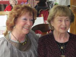 Vivianne Zlomke et sa maman