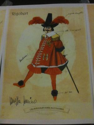 Création costume Rigobert Vanessa Sannino