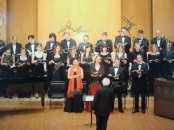 Michel Corboz et l'Ensemble Vocal de Lausanne au Tokyo International Forum